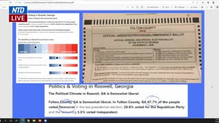 Jovan Hutton Pulitzer Testifies During Georgia Senate Hearing on Election Issues
