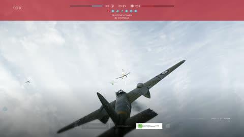 Intense! Mosquito vs Stuka Head to Head Air Combat.