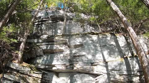Huge Rock Cliff