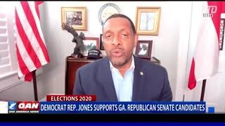 Democrat Ga. Rep. Jones does not want the left to control Senate