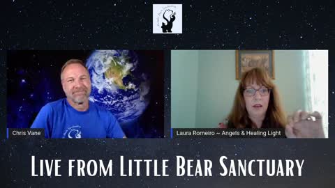 Live from Little Bear Sanctuary Show Special Guest: Laura Romeiro 4June2021