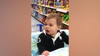 Babies Hilarious Reaction To Toys