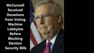 Mitch McConnell Can't Stand by President Trump in 2020.