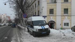Imágenes de la prisión moscovita donde está detenido Navalni