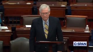 Straight shooting truthful Mitch McConnell