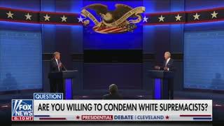Biden Refuses to Denounce Antifa
