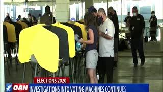 Investigations into voting machines continue in Ariz.