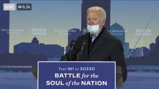 Joe Biden is going crazy
