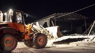 Syria says Israeli raids hit port region