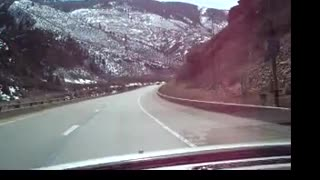 Driving in Glenwood Canyon part 3