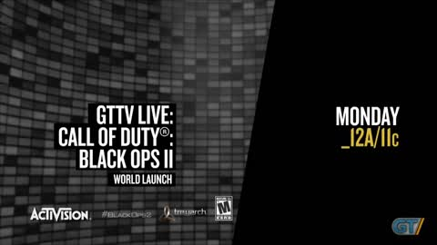 Call of Duty Black Ops II - GT.TV Live Announcement
