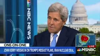 John Kerry caught maskless on a flight in latest example of elitist privilege