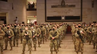 🚨BREAKING: US Military Oath at the Capitol Building!