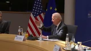 Joe Biden Confuses Himself, Gets Lost Reading His Notes