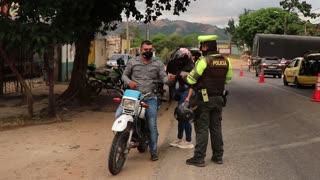 Operativo policía de Tránsito Bucaramanga