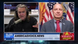 Doug Mastriano reports live from Arizona with Steve Bannon