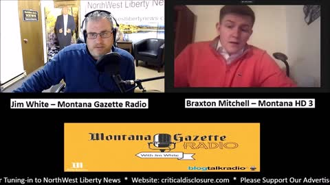 Montana Gazette Radio – Braxton Mitchell - Montana HD 3