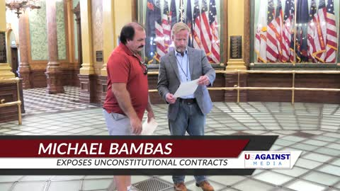 Michael Bambas Exposes Unconstitutional Contracts With State