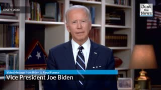 Video Message from Biden to Floyd Funeral