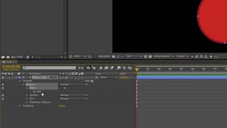 How to open a closed circle path in After Effects