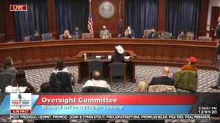 Witness #30 testifies at Michigan House Oversight Committee hearing on 2020 Election. Dec. 2, 2020.