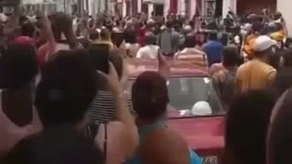 Cubans Protest Outside Communist Party Headquarters: Cuba Isn't Yours!