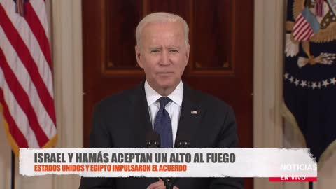 ISRAEL: Ceasefire agreement with Hamas | Words of Netanyahu and Joe Biden