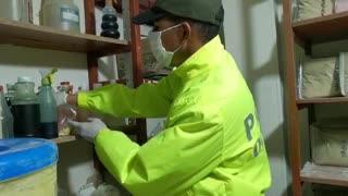 Miles de medicamentos adulterados, para enfermedades terminales, fueron incautados en Bucaramanga
