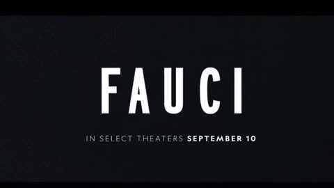 WATCH this disgusting piece of propaganda; FAUCI