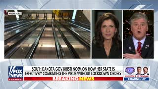 Gov. Noem explains why she didn't lock down South Dakota