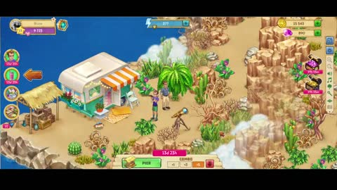 [GamePlay] Taonga: Island Farm (Browser Game) - Find and Harvest