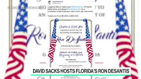 David Sacks destroys dumb far-left TV host over blatantly biased anti-Ron DeSantis question
