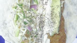 Fish Taco at the American Legion
