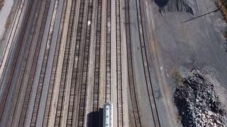 Union Pacific RR Yard near downtown San Antonio