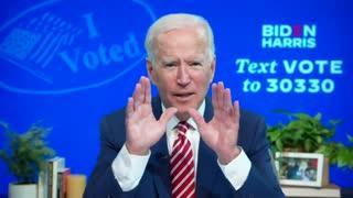 Biden Admits Election Voter Fraud