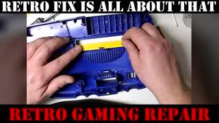 Retro Fix Channel Trailer for video game repair