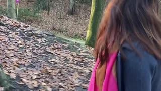 Winter | walking in the park