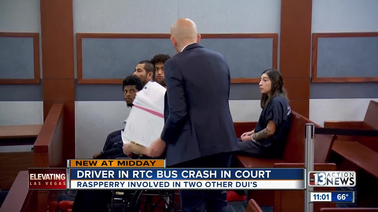 UPDATE: Man accused of causing fatal crash near Tropicana, Rainbow appears in court