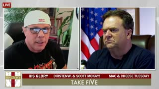 """3.2.21 Scott McKay Interview with Dave Scarlett and Cirsten W on """"His Glory"""""""