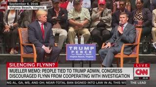Jake Tapper attacks Trump for Michael Flynn tweet