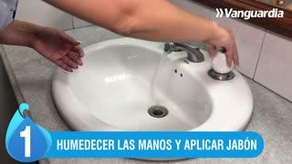 El mejor antídoto contra el coronavirus es un buen lavado de manos