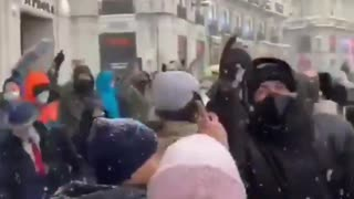 🚨 - Spain's Coronavirus anti-lockdown Protest