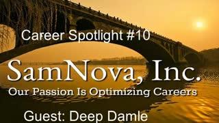 Optimize Your Career | Career Spotlight #10 | Deep Damle