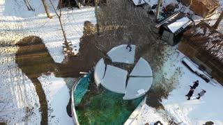 Frozen Pool Ride