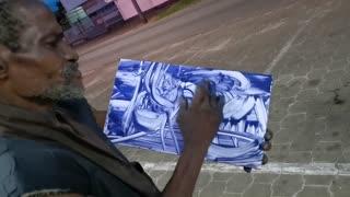 unbelievable street artist