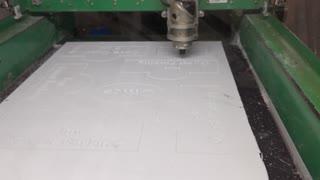 CNC V-carved Signs