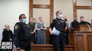 Police shut down Church