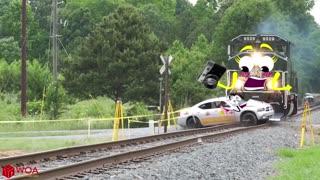 Train crash monster train accident