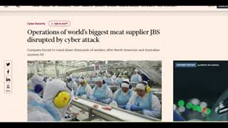 Cyber Attack On World's Largest MEAT Supplier