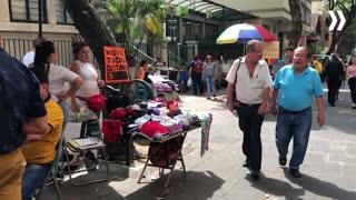 Ventas ambulantes en centro de Bucaramanga